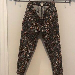 J. Crew pixie pants